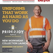 SAFETY MEETS STYLE IN NEW WORKWEAR, PPE AND SAFETY RANGE FROM PRIDE & JOY
